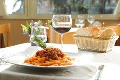 Italienisches maccheroni Lizenzfreies Stockbild