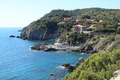 Italienisches Meer - Toskaneres - Italien - Argentario Stockfotos