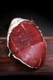 Italienisches Mittagessenfleisch bresaola stockfoto