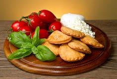 Italienisches panzerotti Stockfoto