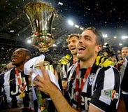 Italienisches Pokalspiel 2015 Stockbild