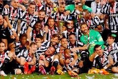Italienisches Pokalspiel 2015 Stockfoto