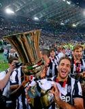Italienisches Pokalspiel 2015 Stockfotos