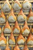 Italienisches prosciutto Stockbild