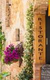 Italienisches Restaurant Lizenzfreie Stockbilder