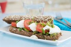 Italienisches Sandwich Lizenzfreie Stockfotos