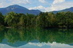Italienisches Sumpfgebiet Lizenzfreies Stockfoto