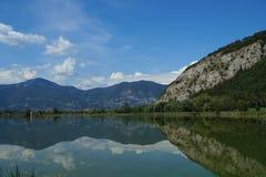 Italienisches Sumpfgebiet Lizenzfreie Stockfotografie