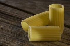 Italienisches Teigwaren rigatoni Lizenzfreie Stockfotos