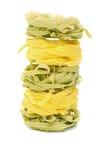 Italienisches Teigwaren tagliatelle Stockfoto