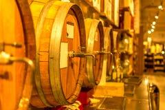 Italienisches Weinfaß Lizenzfreie Stockfotos