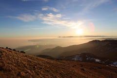 Italiens Sonnenuntergang Lizenzfreie Stockbilder
