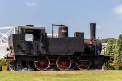 Italiensk ångalokomotiv Arkivbild
