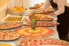 Italiensk blandad kallskuret Royaltyfria Bilder