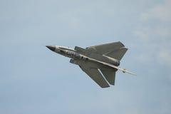 Italiensk bombplan för flygvapentrombstråle Arkivfoto