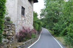 Italiensk bygd Arkivfoton