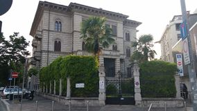 Italiensk byggnad Royaltyfri Foto