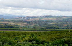 Italiensk Campania för landsliv Arkivbilder