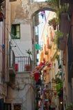 Italiensk caosgränd Arkivfoto