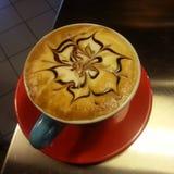 Italiensk cappuccino Arkivfoto