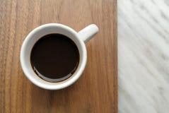 Italiensk espresso Arkivbild