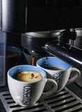 Italiensk espresso royaltyfri foto