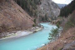 italiensk flod Arkivfoto