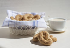 Italiensk frukost Royaltyfri Fotografi