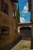 italiensk gammal by royaltyfri fotografi
