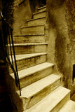 italiensk gammal trappa Royaltyfri Foto