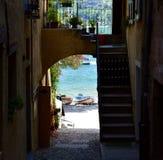 italiensk gata Royaltyfri Fotografi