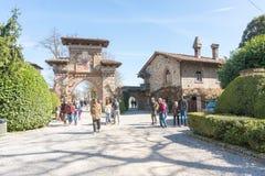 Italiensk historisk by Arkivfoton