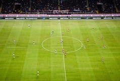 italiensk juventus milan för ac-fotbolllek Arkivbild
