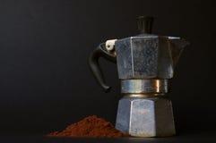 Italiensk kaffebryggare I Royaltyfria Bilder