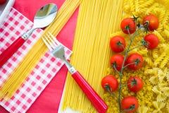 Italiensk kokkonst Arkivbild