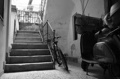 Italiensk korridor royaltyfri foto