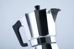 italiensk kruka för kaffe Fotografering för Bildbyråer