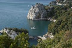 Italiensk kust Arkivfoton