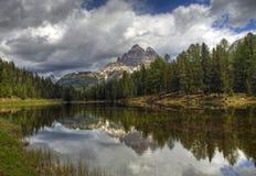 italiensk lake Royaltyfri Fotografi