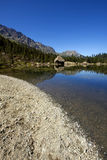 italiensk lake Arkivfoton