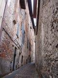 italiensk lane royaltyfria foton