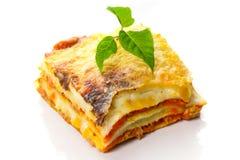 italiensk lasagna royaltyfri fotografi