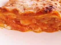 italiensk lasagna Arkivbild