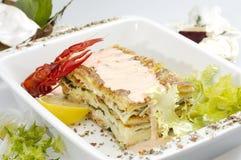 italiensk lasagne Royaltyfria Bilder