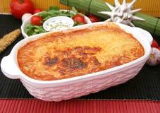 italiensk lasagne Royaltyfri Bild