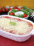italiensk lasagne Arkivbilder