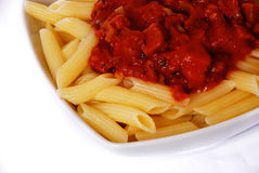 italiensk macaroni Royaltyfria Foton