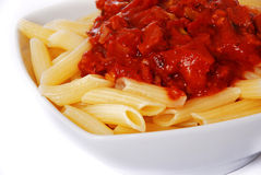 italiensk macaroni Fotografering för Bildbyråer