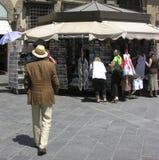 italiensk man Arkivfoto