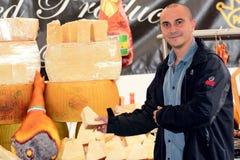 italiensk marknad Arkivbild